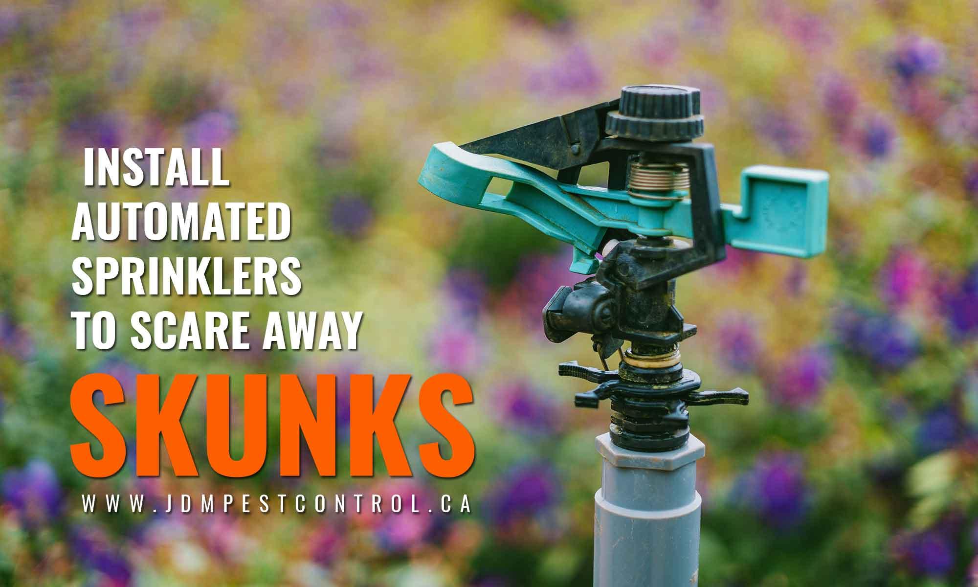 install automated sprinklers