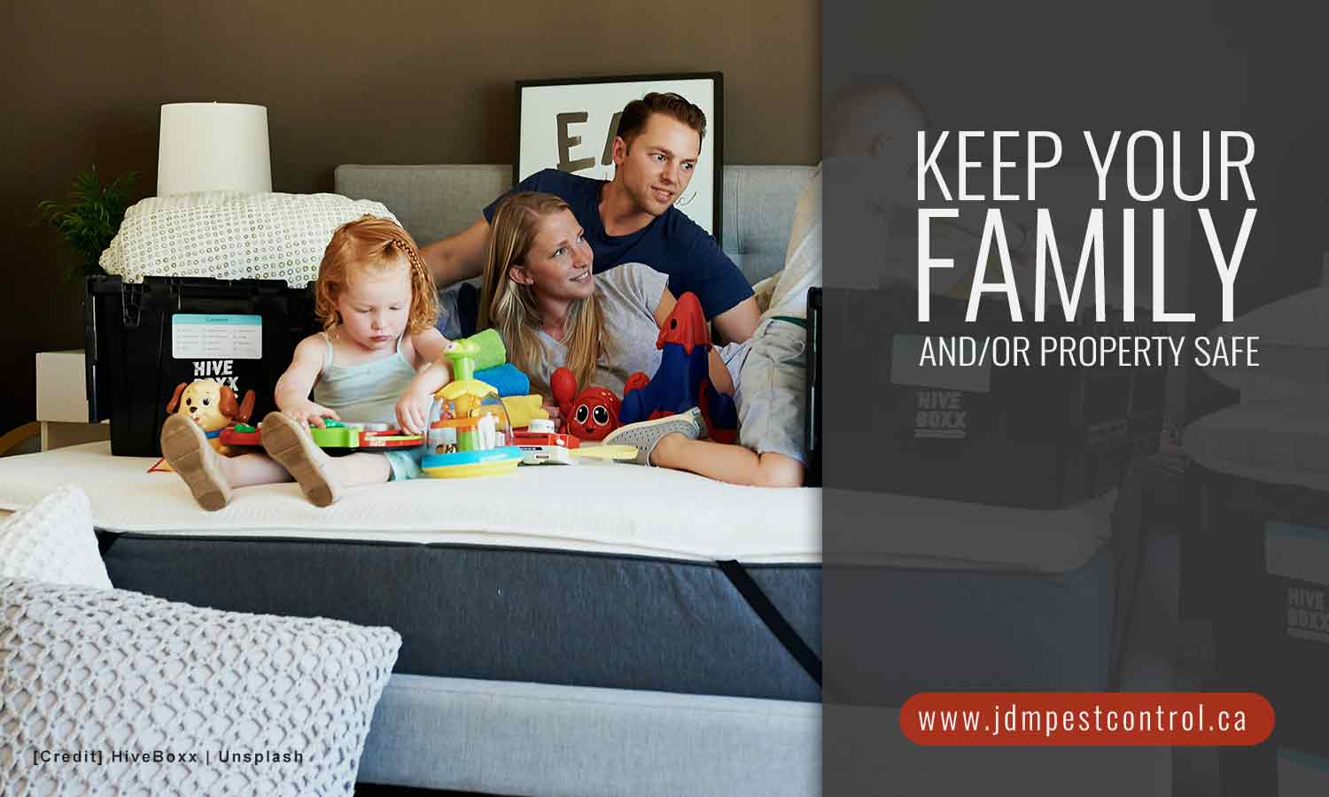 Keep your family and/or property safe