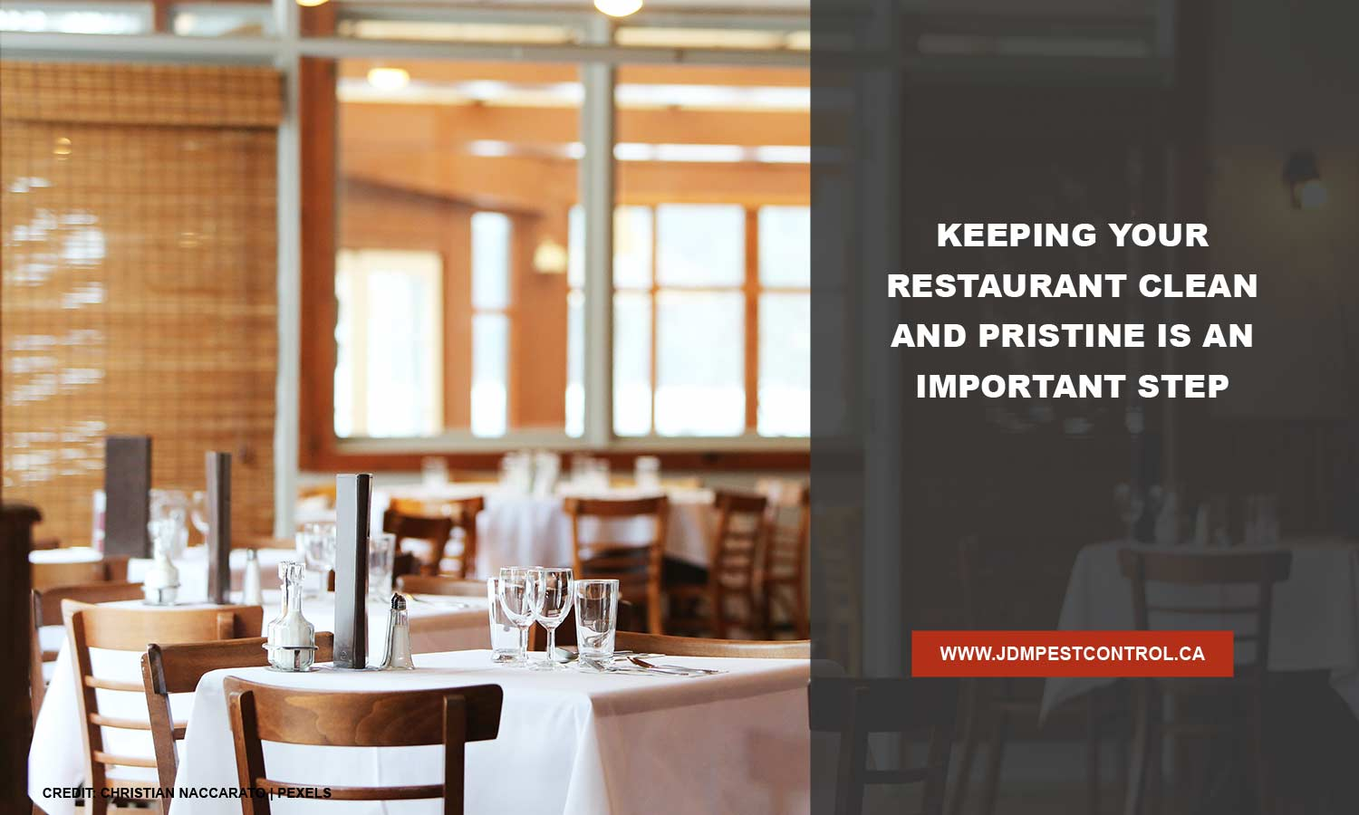 Keeping your restaurant clean and pristine is an important step