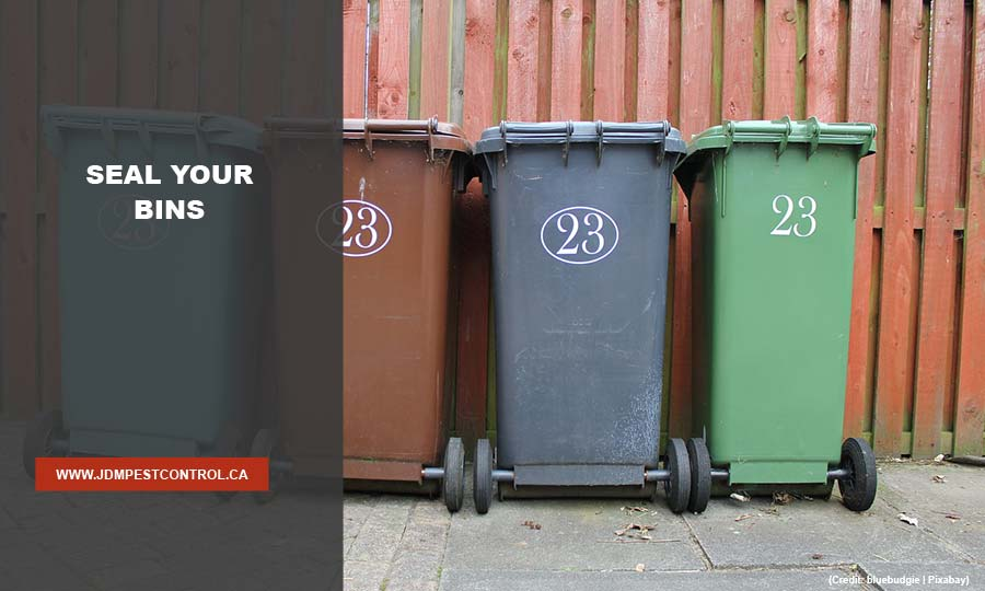 Seal your bins